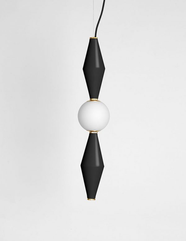 Gamma - Hanging Lamp D - Black