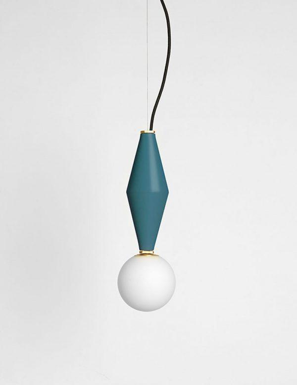 Gamma - Hanging Lamp A - Patrol Green