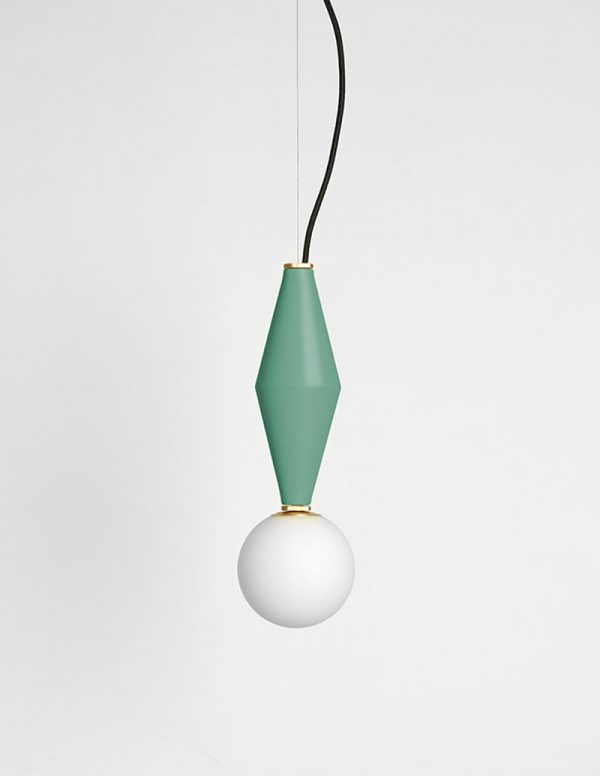 Gamma - Hanging Lamp A - Sage Green