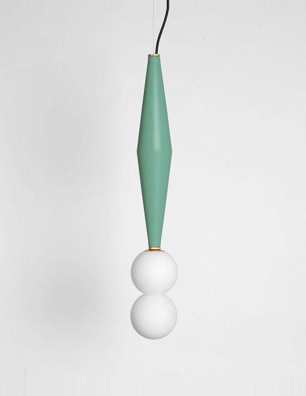 Gamma - Hanging Lamp C - Sage Green