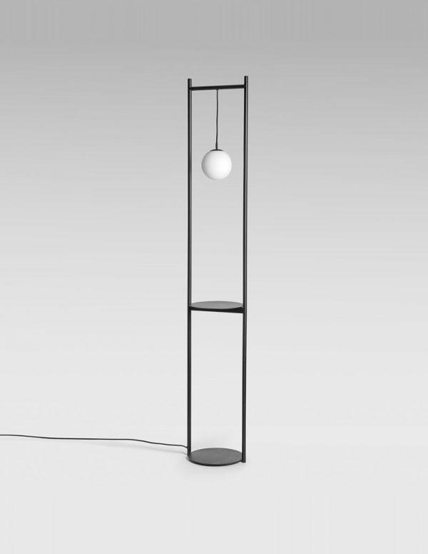 Heis - Floor Lamp - Black