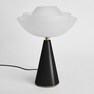 Lotus - Table Lamp - Black