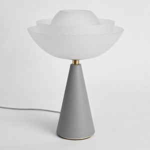 Lotus - Table Lamp - Light Grey