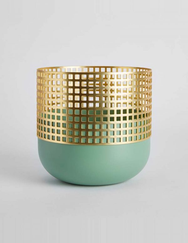 Mia - Medium Vase - Sage Green