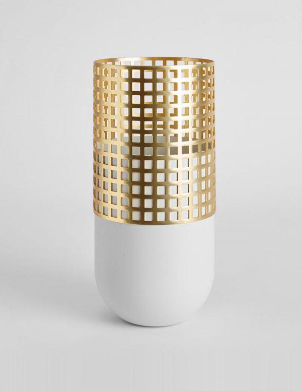 Mia - Tall Vase - Light Grey