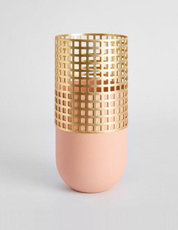 Mia - Tall Vase - Pink