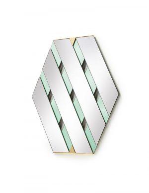 Tresse - Wall Mirror - Sage Green