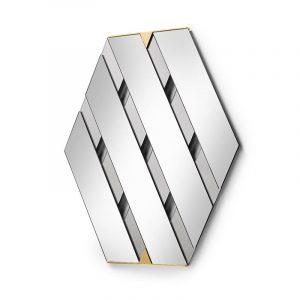 Tresse - Wall Mirror - Fumé