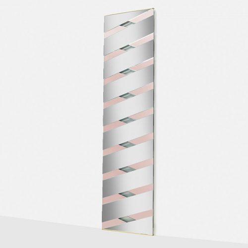 Twill - Wall Mirror - Pink