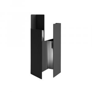 Fugit - Vase - Black
