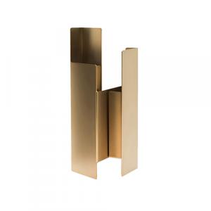 Fugit - Vase - Matte Bronze