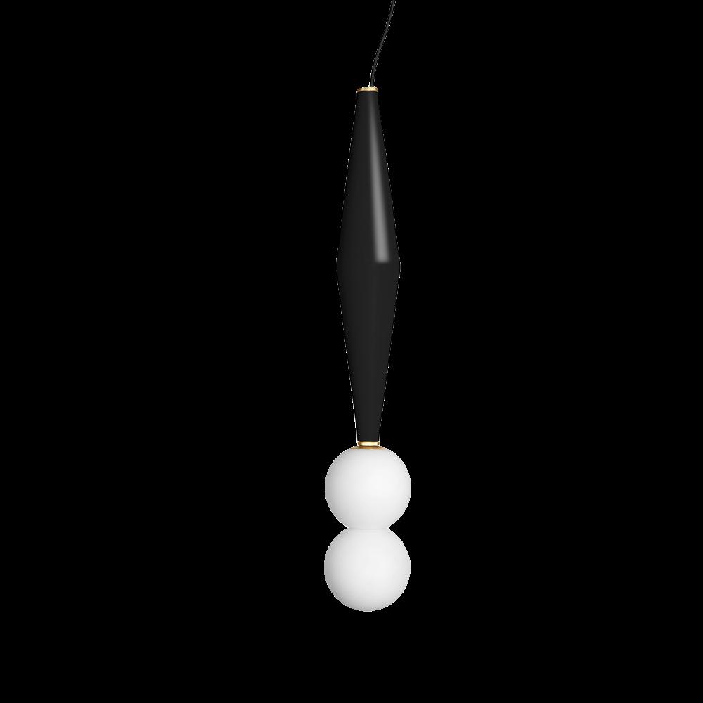 hanging lamp black