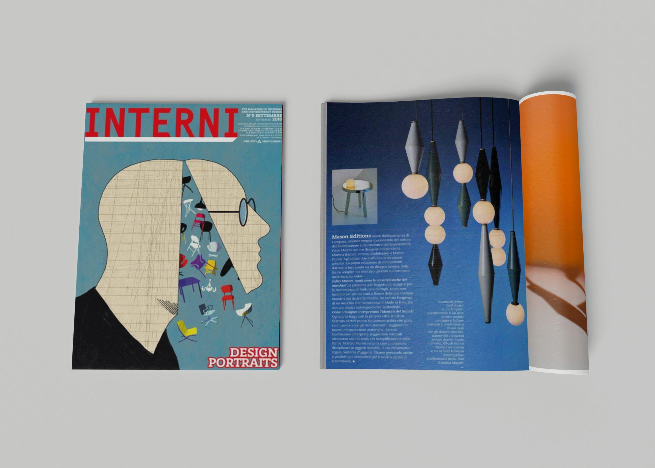 Interni inside our press page
